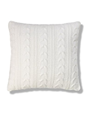 Cosy Knitted Cushion