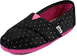 Toms - Tiny Slip-On Gold Dot Shoes, Size: 10 M US Toddler, Color: Gold Dot