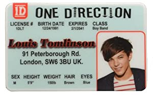 Louis Tomlinson Id - One Direction Band from IncredibleGifts