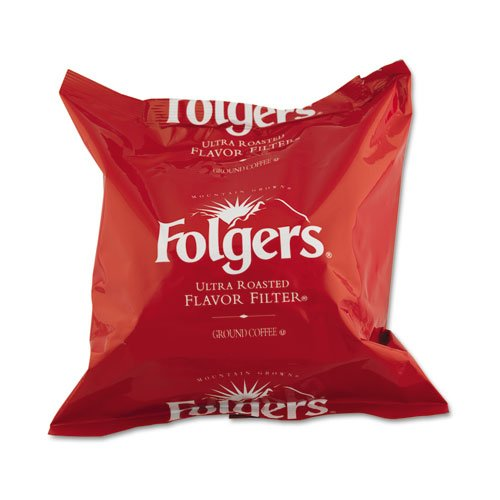 Folgers Products - Folgers - Coffee Filter Packs, Regular, .9 oz, 40/Carton - Sold As 1 Carton - America's #1 Coffee and 100% Mountain Grown. - Smooth rich and consistent flavor. - Premeasured coffee and filter combined in a single pouch. - No measuring, quick brew set-up, easy disposal with less mess and no waste. -