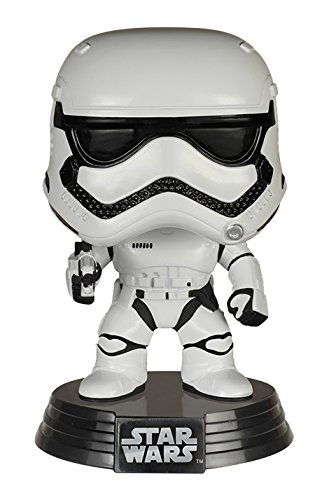 Funko - Figurina Star Wars Episode 7 - First Order Stormtrooper Pop 10Cm - 0849803062255