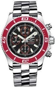 Breitling Aeromarine Superocean II Automatic Chronograph Black Dial Mens Watch A13341X9-BA81SS