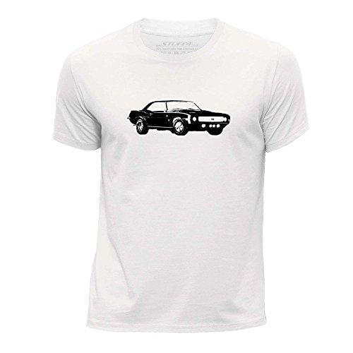 stuff4-garcons-3-4-ans-98-104cm-blanc-col-rond-t-shirt-stencil-art-voiture-camaro-ss-mk1