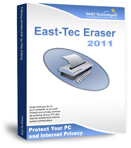 East-Tec Eraser 2011 - Guard Against Identity Theft and Protect Your Privacy By Safely Cleaning and Erasing Sensitive Data Like Medical Records or Financial Data From Your Computer (Windows Software)