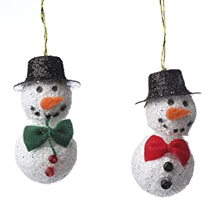 Package of 12 adorable miniature snowman for Tiny top hats for crafts