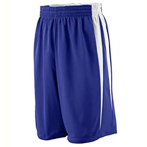 Reversible Wicking Game Basketball Shorts - Youth from Augusta Sportswear by Augusta