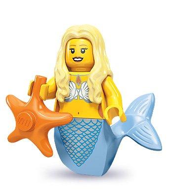 LEGO 71000 - Minifigur Meerjungfrau aus Sammelfiguren-Serie 9