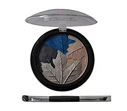 Laura Geller Baked Multi-Color Eye Palette in Festive Leaf and Brush