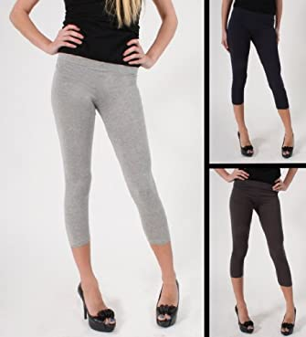Active Basic Premium Leggings Set in Heather Grey, Charcoal, and Navy