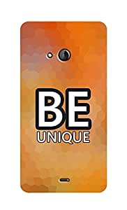 SWAG my CASE Printed Back Cover for Microsoft Lumia 540