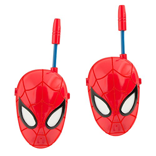 IMC Toys - Walkie talkie cara Spiderman