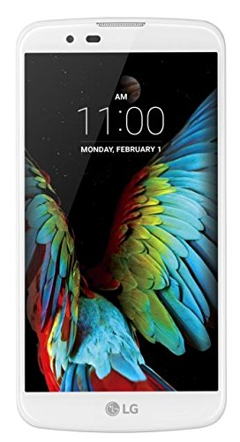 LG K10 Smartphone (5,3 Zoll (13,5 cm) Touch-Display, 16 GB Speicher, Android 5.1) weiß