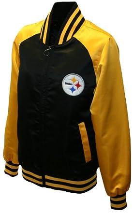 NFL Ladies Pittsburgh Steelers Satin Team Spirit Jacket by MTC Marketing, Inc
