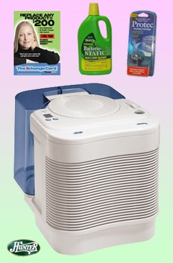 buy low price hunter 34357 cool mist humidifier deluxe kit b004150qrm air purifier mart. Black Bedroom Furniture Sets. Home Design Ideas