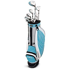 Adams Golf A3OS 8-Piece Ladies Intergrated Set (4-9 Hybrids, PW, SW) - Rain