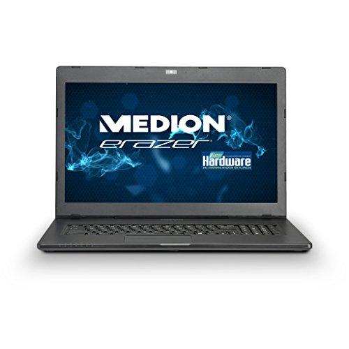 MEDION ERAZER X7613 (MD 99123) 43,9cm (17,3 Zoll) Notebook (Intel i7, 2,6 GHz, 1TB HDD, 128GB SSD, 16GB RAM, Windows 8.1, NVIDIA GTX 860M) titan