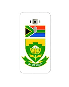 GripIt South Africa Cricket Board Back Cover for Asus Zenfone 3 Deluxe
