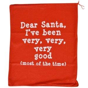Santa Christmas Sack