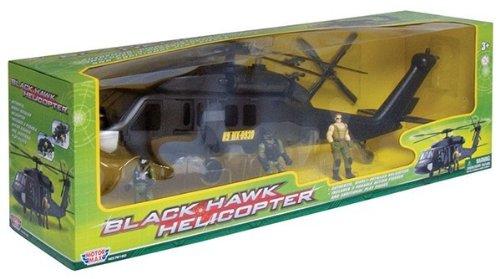 Richmond Giocattoli Motormax nuovo Battle Zone Black Hawk Helicopter