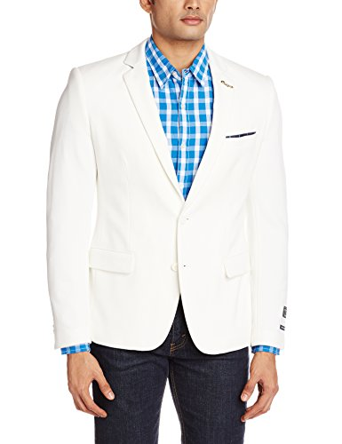 Arrow Newyork Men's Slim Fit Blazer (8907259881720_ABRY9703_38_White_38_White)