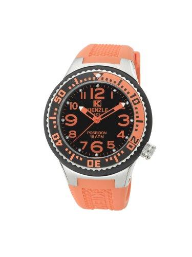 Kienzle - K2053153303-00277 - Montre Mixte - Quartz Analogique - Bracelet Silicone Orange