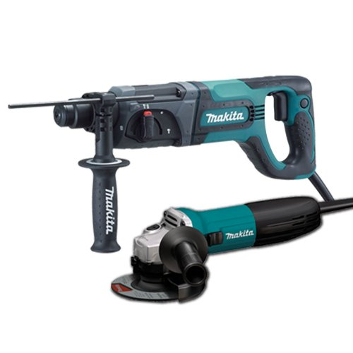 Makita HR2475X2 1-Inch Rotary Hammer (includes free GA4530 4-1/2-Inch Grinder)