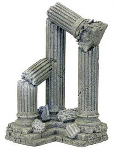 rosewood d cor pour aquarium colonnes en ruines g antes. Black Bedroom Furniture Sets. Home Design Ideas