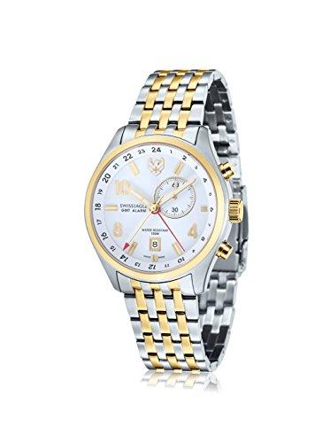Swiss Eagle Reloj de cuarzo Mission Plateado / Dorado 43  mm