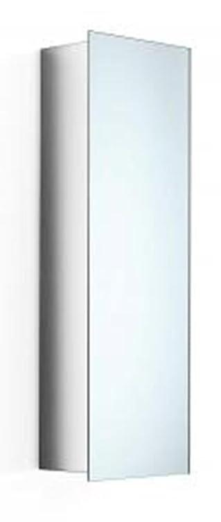 Lineabeta 51502.29.79 Pensile a Specchio Serie Pika, Inox/Lucido