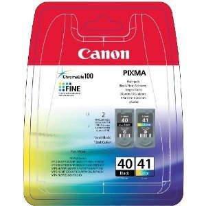 Canon PG-40 / CL-41 Multi Pack - Ink tank - 1 x black, colour (cyan, magenta, yellow)