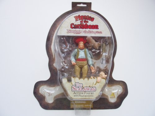Buy Low Price Walt Disney Parks and Resorts Disneyland Pirates Of The Caribbean Figure – The Scalawag (B001C3GINC)