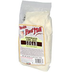 One 28 oz Bob's Red Mill Evaporated Cane Juice Sugar