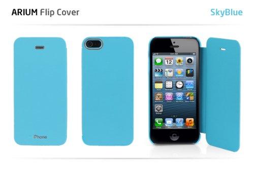 GALAXY S4 SC-04E ケース カバーArium Flip CoverギャラクシーS4 フリップ カバー(ブルー(Blue)