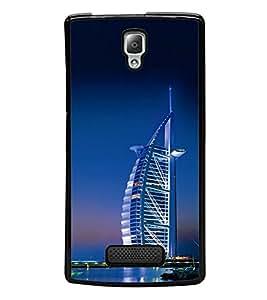 Vizagbeats Burj Al Arab Back Case Cover for LENOVO A2010