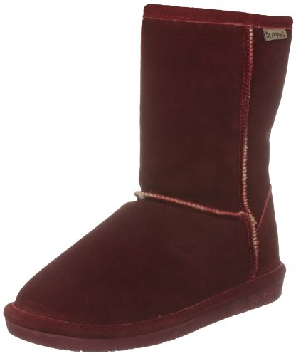 Bearpaw Women's Emma Short Redwood Fur Trimmed Boot 608W 5 UK