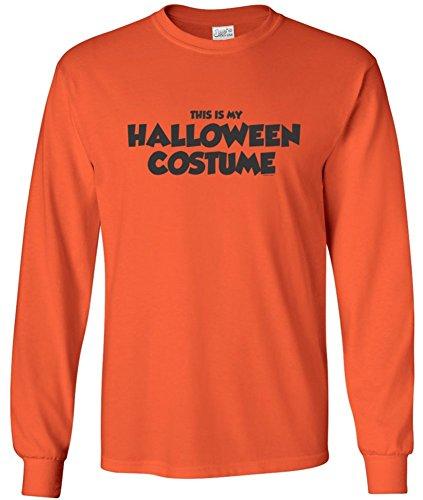 [Joe's USA Easy Halloween Costume Fun Long Sleeve My Halloween Costume T-Shirt] (Heavyweights Halloween Costume)