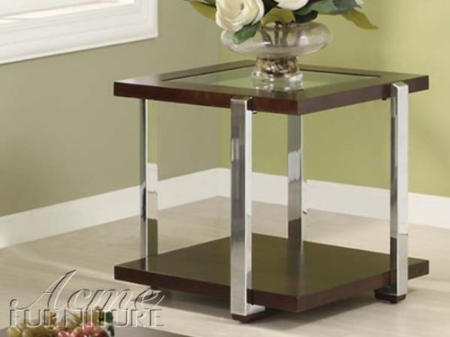 24″H Jae Contemporary Espresso End Table (AC-80037)