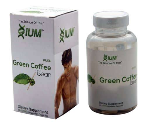 #1 Bestselling 90 Capsules Pure Green Coffee Xium Weightloss 800mg 50% GCA Pure - 3 Day Sale