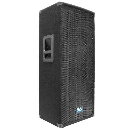 Seismic Audio - Dual 12 Inch Pa Dj Speaker 600 Watts Pro Audio - Band, Bar, Wedding, Church
