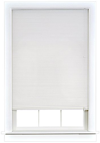 Achim Home Furnishings Honeycomb Cellular Shade, 27-Inch by 64-Inch, White