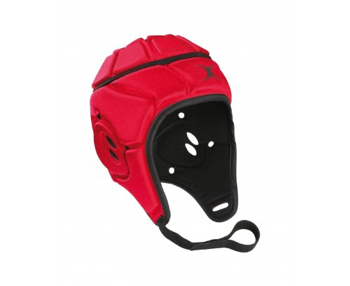 Gilbert Atomic Junior Rugby Head Guard (Red,Large Boys)