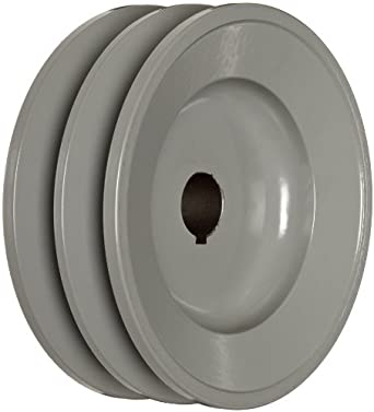 "TB Woods 2BK5034 FHP Bored-To-Size, 4.75"" Outside Body Diameter, 0.75"" Bore Diameter V-Belt Sheave"