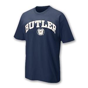 Butler Bulldogs Arch & Logo Short Sleeve T-shirt