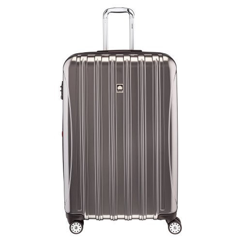 Delsey Luggage Helium Aero 29 Inch Expandable Spinner Trolley, Titanium, One Size (Delsey Luggage Helium Trolley compare prices)