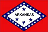 5Ft X 3Ft 5'X3' Flag Arkansas America Usa State American