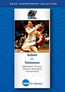 1989 NCAA(r) Division I Women's Basketball Championship - Auburn vs. Tennessee