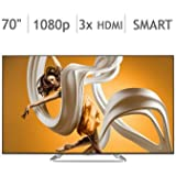 "Sharp AQUOS 70"" Class (69.5"" Diag.) 1080p Smart LED HDTV LC70C6600U"