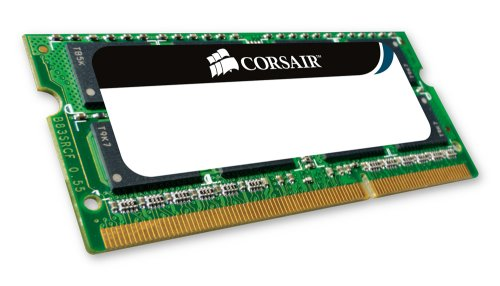 Corsair 4 GB 204-Pin 1066Mhz (PC3 8500) DDR3 Apple Laptop SO-DIMM Memory CMSA4GX3M1A1066C7 - Not a Kit (Single)