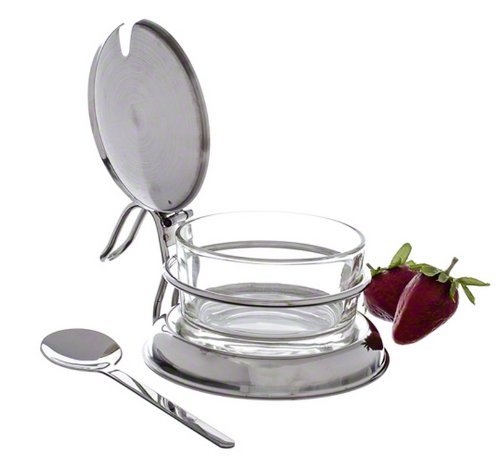 Tablecraft (357) 6 oz Glass Condiment Jar Set (Grated Cheese Dispenser compare prices)