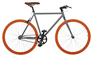 54cm TRACK FIXED GEAR BIKE FIXIE SINGLE SPEED ROAD BIKE
